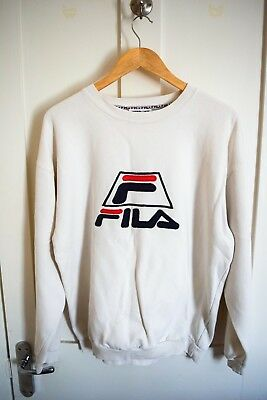 Vintage FILA large print Sweatshirt Medium/Large