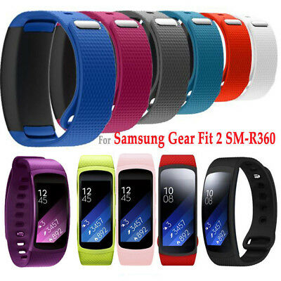 Silicone Luxury Replacement Watch Bands Straps For Samsung Gear Fit 2 /Fit2 Pro