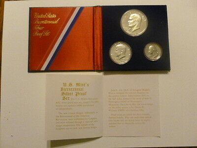 U.S. Bicentennial Silver Proof Set