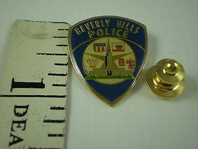 Beverly Hills Police  Patch  Mini-Badge Lapel Pin