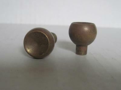 Lot of 2 Antique Phonograph Knobs Vintage Cabinet Pulls Phonograph Parts (#128)