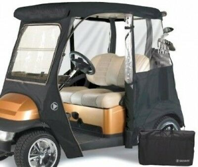 Greenline GLECCT02 2 Passenger Drivable Golf Cart Enclosure and Bunker Sand