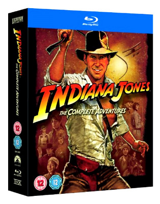 Indiana Jones The Complete Adventures, Blu-ray Set, All 4 Movies, Harrison Ford