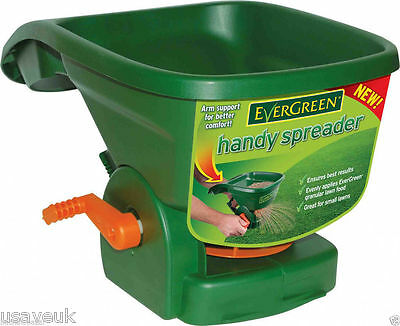 Evergreen Handy Spreader Fertilizer Spreader Garden Lawn Feeder Grass Seeder