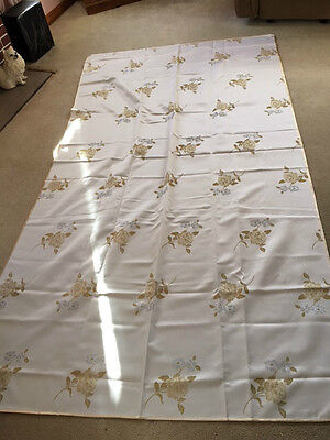 Antique Italian Heavy Embroidery Table Linen (Oblong)