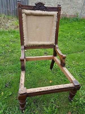 Victorian Lady's chair frame