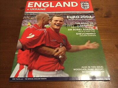 England v Ukraine International Friendly 2004