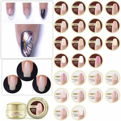 CANNI nail extension gel thick builder gel natural camouflage UV gel 25 colours
