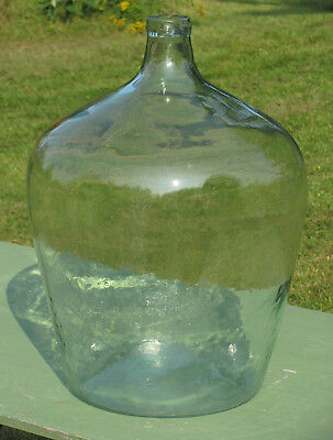 Beautiful Antique Large Aqua Blue DEMI JOHN CARBOY DAME JEANNE BIMAL RARE!