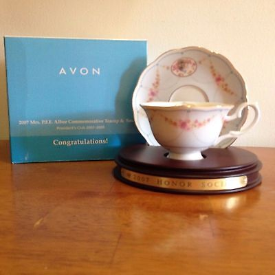 Avon 2007 Albee Commemorative Teacup and Saucer