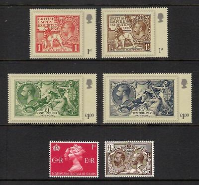 SG3066-3071 2010 LONDON. CENTENARY of GEORGE V ACCESSION  Set 6v UNMOUNTED MINT