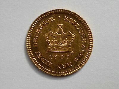 George Iii 1802 Gold Third-Guinea S3739 Au