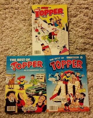 VINTAGE THE BEST OF TOPPER No.11/19/25