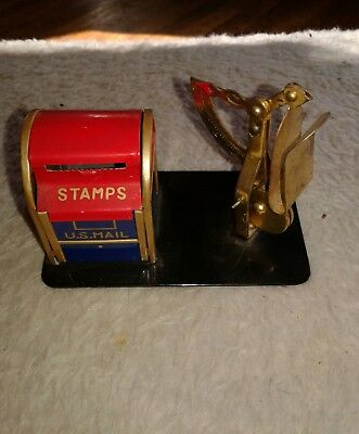 vintage postage stamp machine...scale and stamp holder...