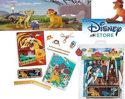Disney Store NEW The Lion Guard Stationery Supply Art Kit School The Lion King