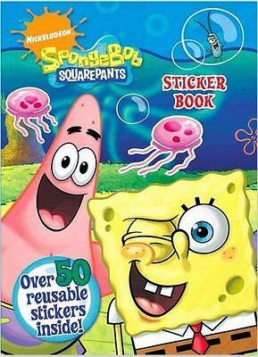 SpongeBob Squarepants: Sticker Book, New 50 stickers