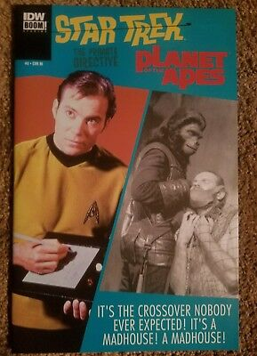 Star Trek / Planet of the Apes: The Primate Directive #2 (January 2015, IDW)