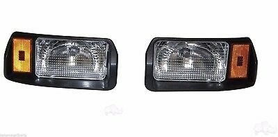 Club Car DS Factory Size Passenger & Driver Side Headlights. RHOX. Free Delivery