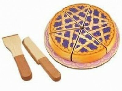 Im Toy Blueberry Pie Wooden Play Food. Brand New