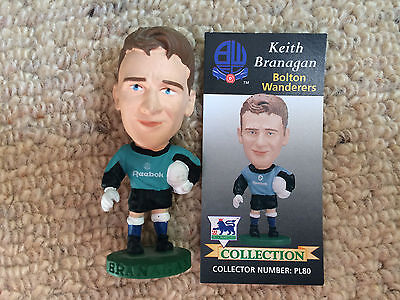 95/96 Corinthian Keith Branagan Bolton Figure & Card Excellent Condition