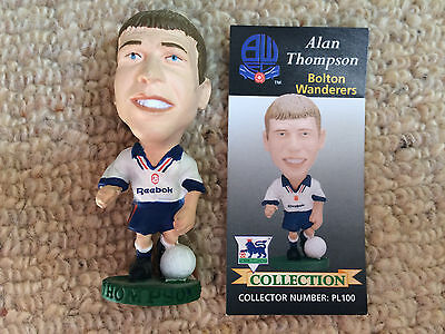 95/96 Corinthian Alan Thompson Bolton Figure & Card Excellent Condition