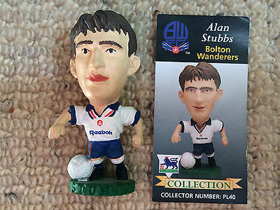 95/96 Corinthian Alan Stubbs Bolton Figure & Card Excellent Condition