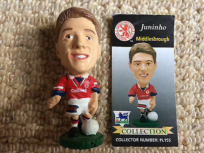 95/96 Corinthian Juninho Middlesbrough Figure & Card Excellent Condition