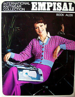 Empisal Knitting Machines Patterns Book AU26 - 12 LADY'S DESIGNS - VGC
