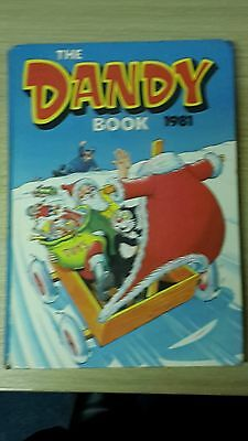 The Dandy Book Annual 1981- by D.C.Thomson - Good Condition - Unclipped £1.40
