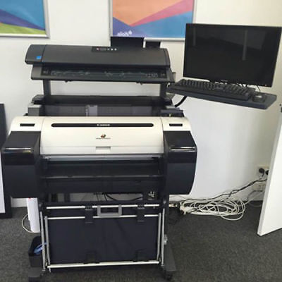 "Canon imagePROGRAF  iPF685MFP Pro 24"" Large Format Printer"