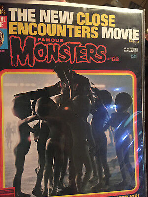 Famous Monsters Of Filmland MAGAZINE ---- No 168--OCTOBER 1980--