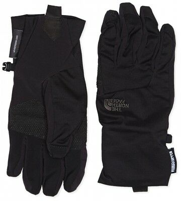 (Large, TNF Black) - The North Face Men's Quatro Wind Stopper Etip Glove