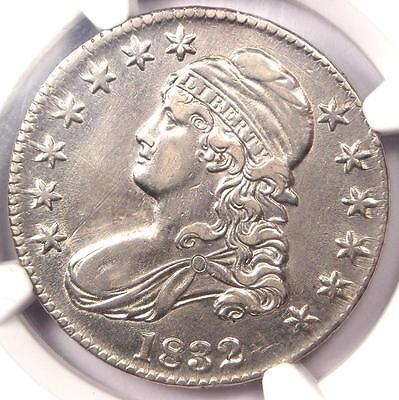 1832 Capped Bust Half Dollar 50C O-101a - NGC AU Details - Rare - Nice Luster!