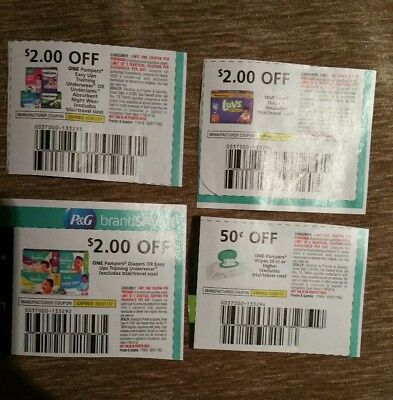 Pampers diaper coupons