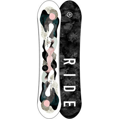 New RIDE 2018 WOMENS COMPACT SNOWBOARD 138CM