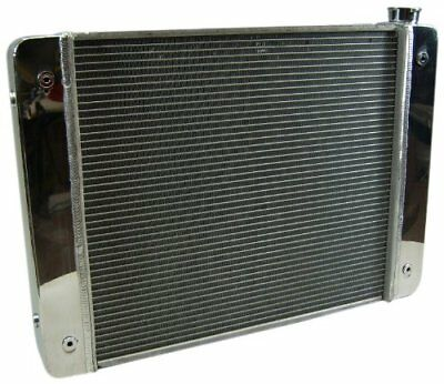 Prw 5401931 Aluminum Radiator With Polished End Tank And Top Cover For Gm
