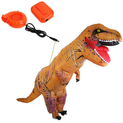 7.2FT Dinosaur Xmas costume For Adult Park T REX Costume INFLATABLE New!