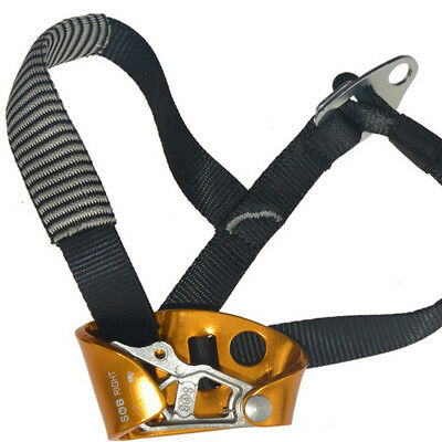 Hot Safety Chest Ascender & Diameter 8-12mm Rope for Climbing Rescue Rappelling