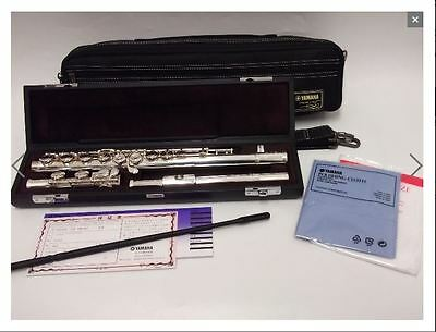 """Yamaha New Professional Silver Flute """" Finesse YFL-617 """" Hand-made of Ag 925."""