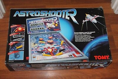 Tomy Astro Shooter Vintage Table Top Machine 1991