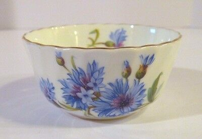 Adderley Bone China Floral Tea Cup Gold Trim Made in England