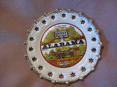 """Alabama Collector Plate: Confederacy White House/Bellingrath Gardens; approx. 8"""""""