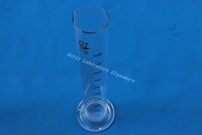 1000 mL 1L pyrex Measuring Cylinder borosilicate glass 3.3 material lab glass