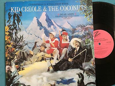 """KID CREOLE &  THE COCONUTS christmas in b'dilli bay (dear addy) 12"""" Vinyl record"""