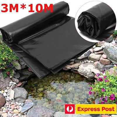 Fish Pond Liner 3X10m Garden Pools HDPE Membrane Reinforced Guaranty Landscaping
