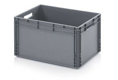 1 Pallets 45X Plastic Container 60x40x32 Crate AB Warehouse
