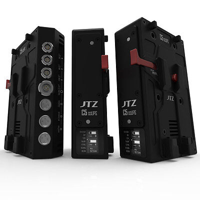 JTZ DP30 C5 CCUPS V-Mount Uninterrupted Battery Power Supply V-Lock Plate Rig