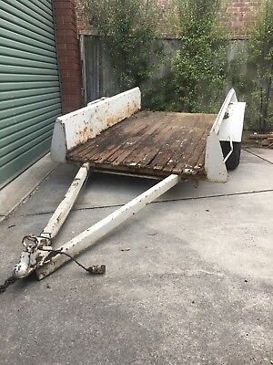 6x4 6 X 4 Trailer Needs Work, Good For Go Cart Motorbike