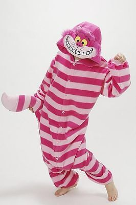Chat de Cheshire adulte Kigurumi Pyjamas Anime Cosplay Costume animal Onesie2