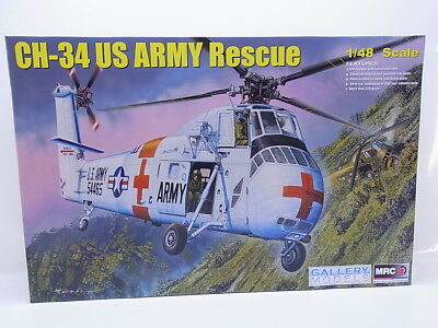 Interhobby 44932 MRC 64103 CH-34 US Army Rescue 1:48 Bausatz NEU in OVP